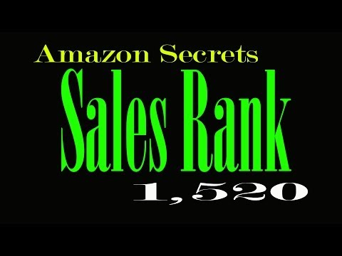 HOW DOES AMAZON SALES RANK WORK? | HOW TO SELL ON AMAZON