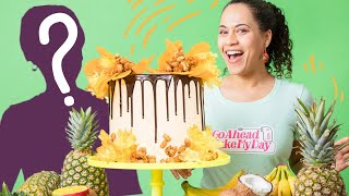 My MOM Comes To The Kitchen! Making a Spice Island Grenada MEGA Cake | How To Cake It