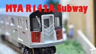 more mth mta subway r142a videos