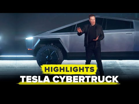 Watch Elon Musk announce the Tesla Cybertruck in 14 minutes