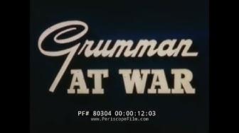 GRUMMAN F6F HELLCAT FIGHTER AIRCRAFT PRODUCTION LINE 1944 PROMOTIONAL FILM 80304