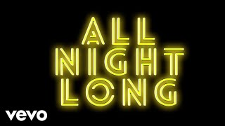 Jonas Blue, RetroVision - All Night Long (Visualiser)
