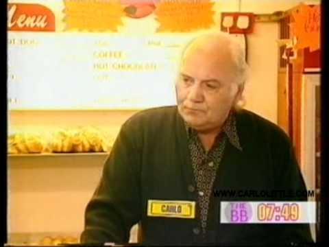 Carlo Little on The Big Breakfast, 1999