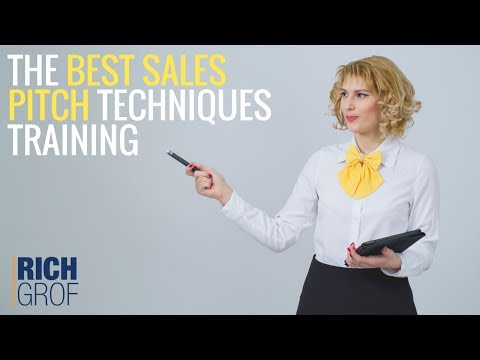 The Best Sales Pitch Techniques Training & Sales Prospecting Lead Generation