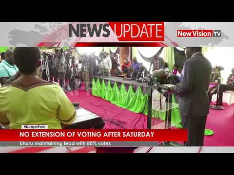 Kenya Polls: No extension of voting after Saturday