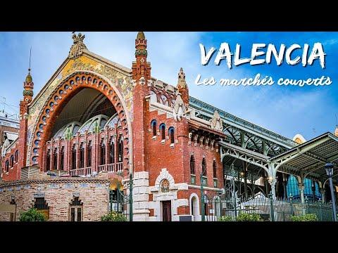 Valencia, visite des marchés couverts