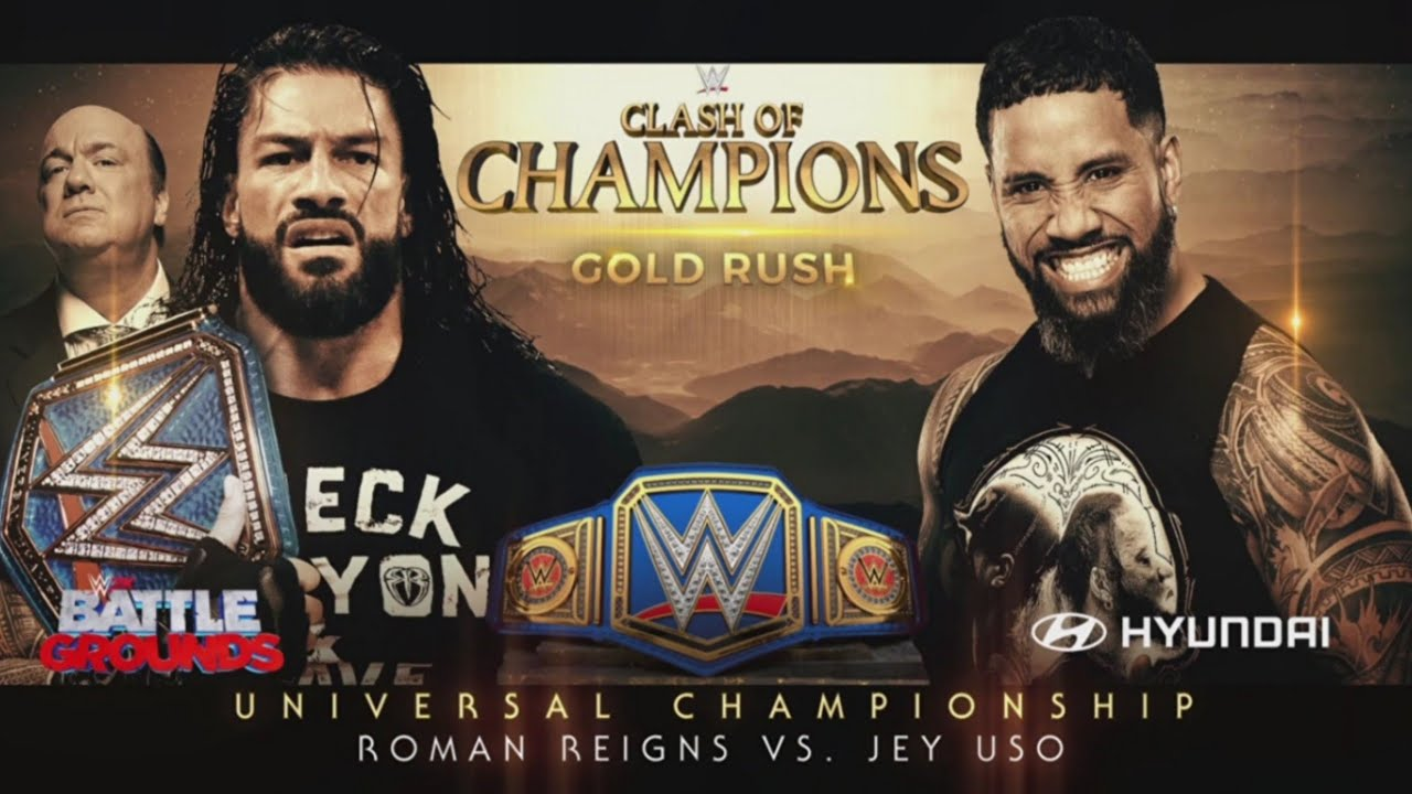 Download WWE Clash Of Champions 2020 Official and Full Match Card