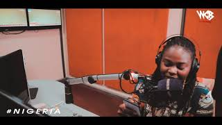 Harmonize live interview In Nigeria (URBAN FM)