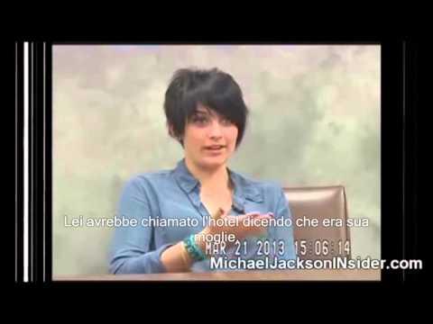 Michael Jackson: Deposition of Paris Jackson. ( Sub Ita)