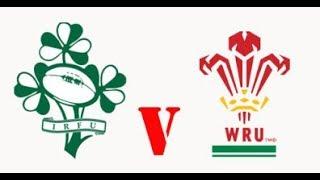 Tournoi des 6 Nations Irlande vs Pays de Galles 24/02/2018