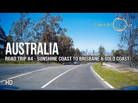 Road Trip Australia | East Coast - Part 4 - Sunshine Coast To Brisbane & Gold Coast [1080HD]