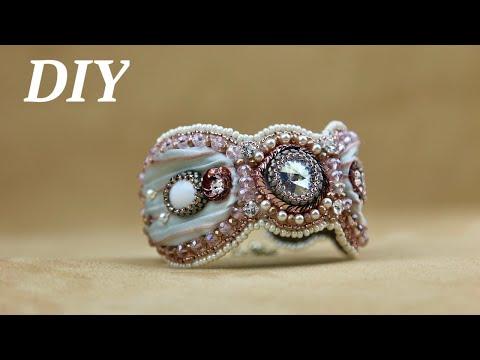 Браслет своими руками/DIY Beaded Bracelet
