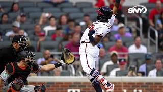Keith Hernandez talks about Ronald Acuna and throwing inside