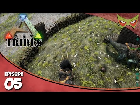 Ark: Tribes - Ep 05 - Area Protection! - Let's Play On Pooping Evolved