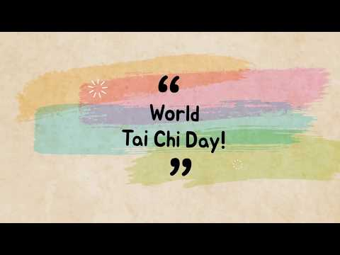 World Tai Chi Day 2018
