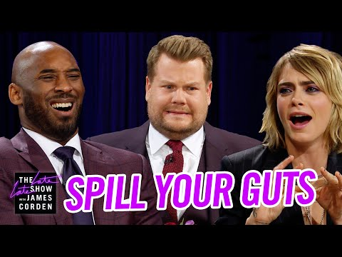 Spill Your Guts or Fill Your Guts w Kobe Bryant & Cara Delevingne