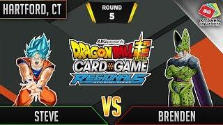 Dragon Ball Super Card Game Gameplay [DBS TCG] Hartford Regional Round 5