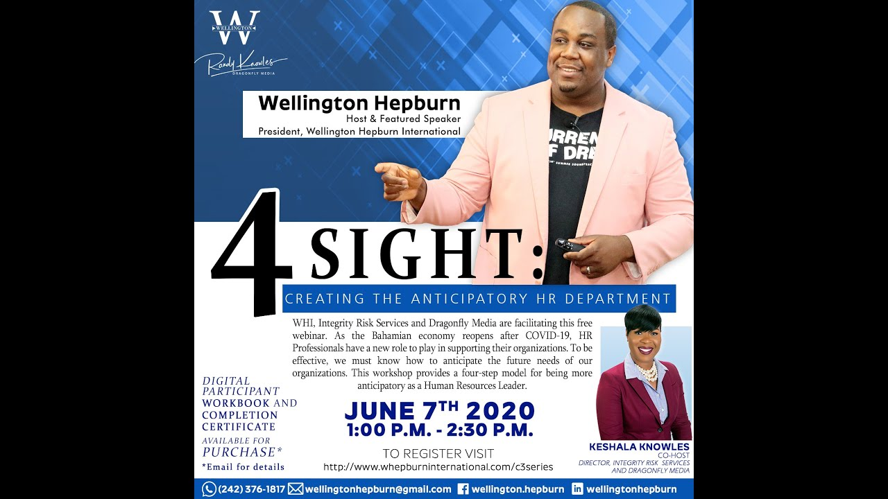 WHI C3 Series - 4sight: Creating The Anticipatory HR Department (June 7 2020)