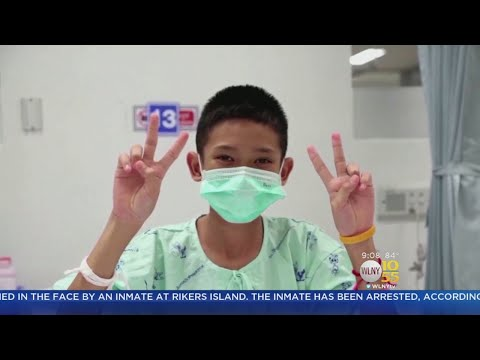 Thai Soccer Team Shares Videos From Hospital