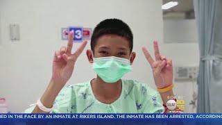 Thai Soccer Team Shares Videos From Hospital