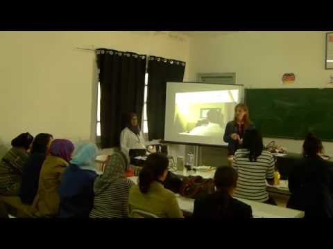 German lesson in Tunis