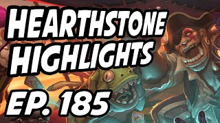 Hearthstone Daily Highlights | Ep. 185 | PlayHearthstone, itsHafu, DisguisedToastHS