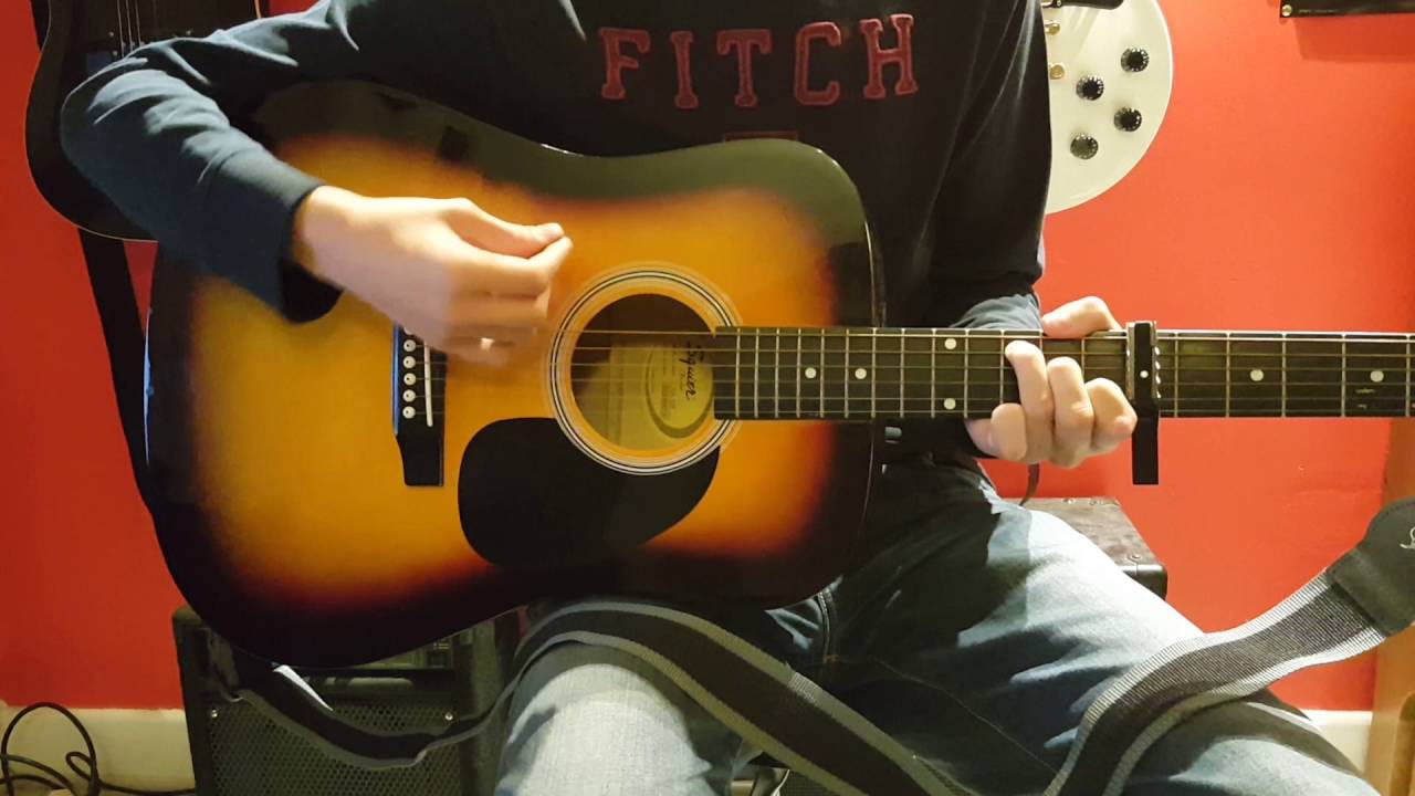 Green Day Ordinary World Guitar Cover Chords Hd Youtube
