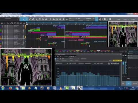 Alan Walker - Routine Remix Drop Gamelan Version