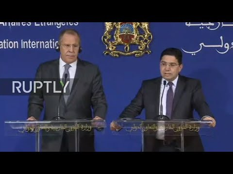 Refeed: Lavrov and Moroccan FM Bourita hold joint presser in Rabat