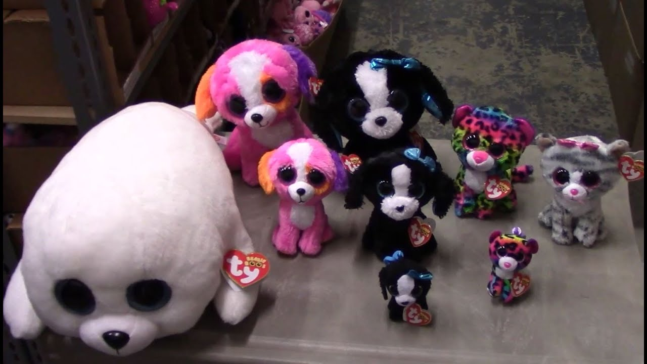TY Beanie Boos - New Releases Summer 2016 (Dotty ee672acd7bb