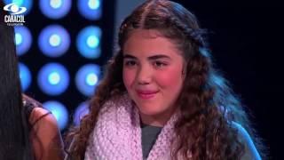 Daniela, Mariana y Sebastián cantaron 'Piel Canela' de Bobby Capó – LVK Colombia – Batallas – T1