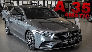 2019 Mercedes-AMG A 35 4MATIC | new A35 AMG | Exterior & Interior | W177