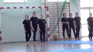 Zespół Szkół im. A. Naruszewicza Janów Podlaski - pokaz gimnastyczny 2