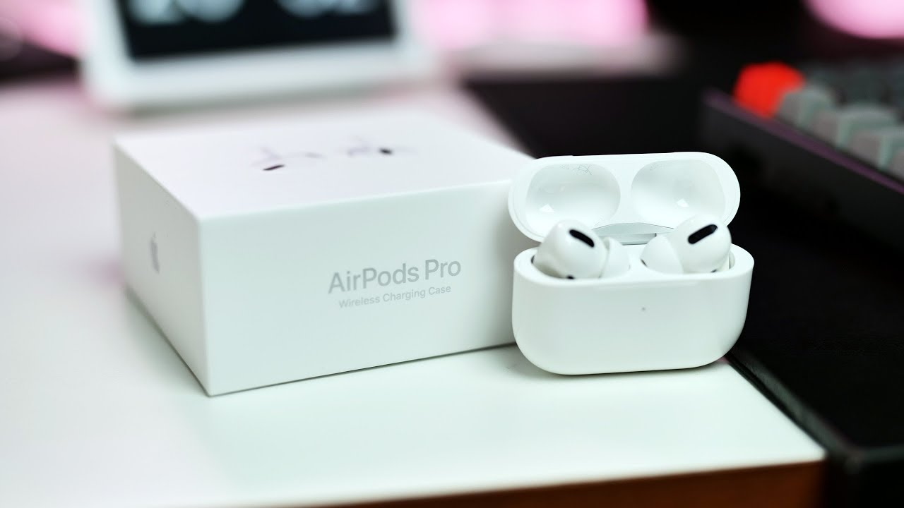 Airpods Pro Unboxing Review Noise Cancelling Youtube