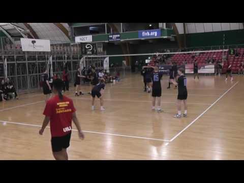 Rowville Vs Trident NZ Volleyball Nationals 2016 (2-3)