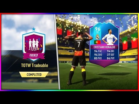 FIFA 17 | FUT BIRTHDAY - TOTW SBC'S ROAD TO RONALDO #1 (NEW FUT BIRTHDAY DAY 3 PREMIUM SBCs & CARDS)