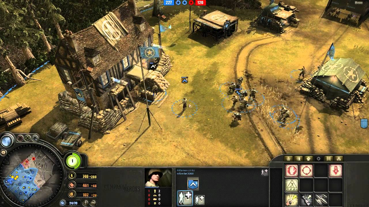 Company Of Heroes Skirmish Gameplay Hd Youtube