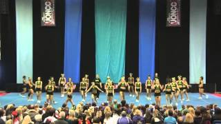University of Regina Cheerleading - PCA UONCC 2012 - Run 1 - Small Co-ed - National Champs