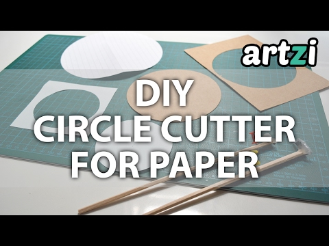 DIY Circle Cutter for Paper