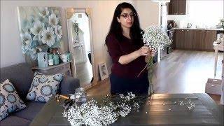 DIY Baby's Breath Bouquet