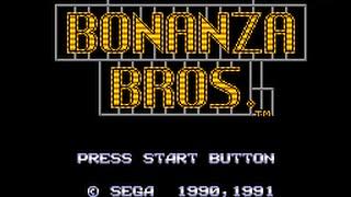 Master System Longplay [018] Bonanza Bros.