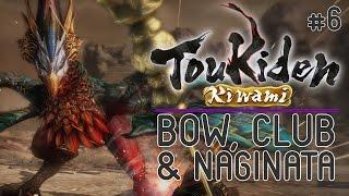 Toukiden Kiwami [PC Gameplay] Bow, Club & Naginata - Chapter 1 Part #6