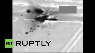 Iraq: US air power POUNDS Islamic State tank