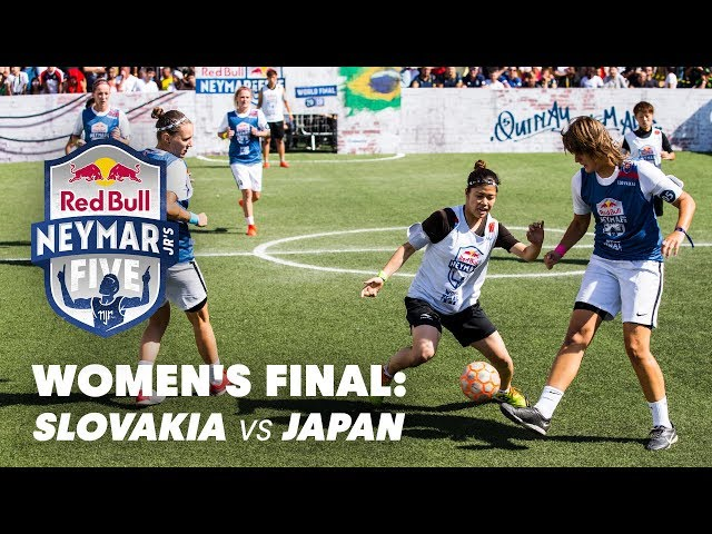 Red Bull Neymar Jr's Five 2019 Women's Final: Slovakia vs Japan   Five-A-Side Football Tournament