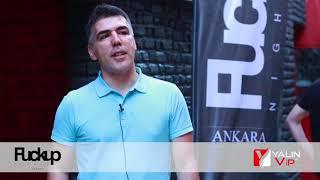 FuckUp Nights Ankara Sponsorumuz Yalın V.I.P Taşımacılık - Çağatay Yalın