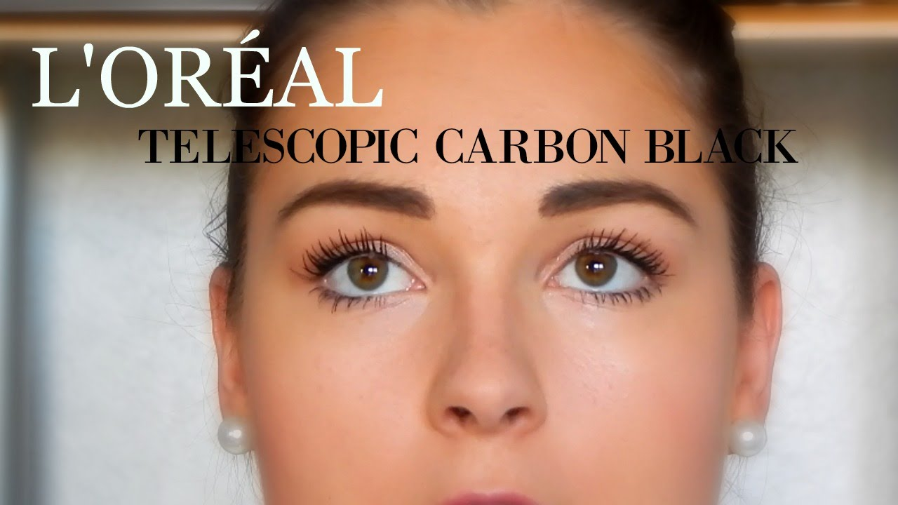 c0ead0f920c FIRST IMPRESSION! MASCARA TELESCOPIC CARBON BLACK - YouTube