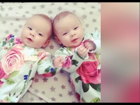 Awesome Twin Babies Playing Together  - Funny Twins Babies  - Youtube