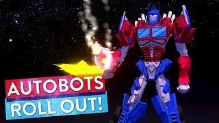 VR Artist Brings Optimus Prime to Life! | Art Attack