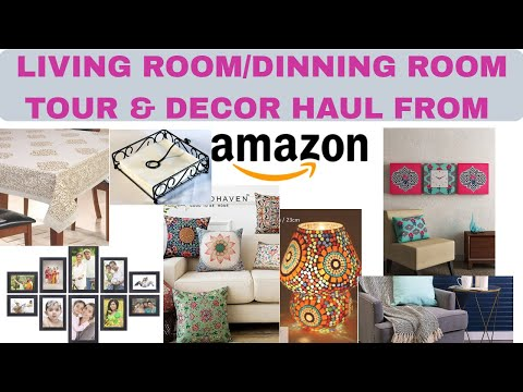 |amazon-haul||-living-room/dinning-room-tour-&-decor-haul-|vnusway|