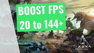[NEW]ARK: Survival Evolved Extinction - How to improve performance and FPS